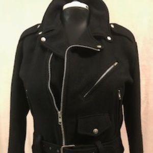 Jackets & Coats - 100% Wool Vintage Moto Jacket